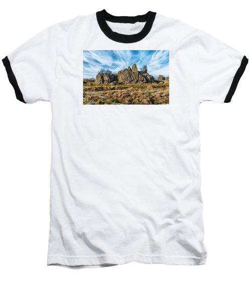 The Bomb Rocks Baseball T-Shirt