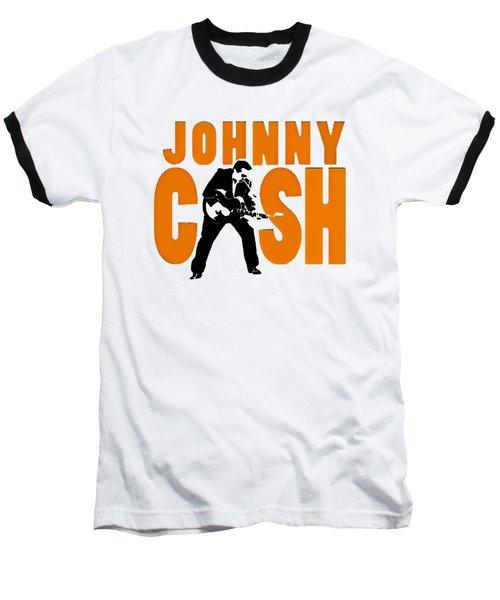 The Fabulous Johnny Cash Baseball T-Shirt