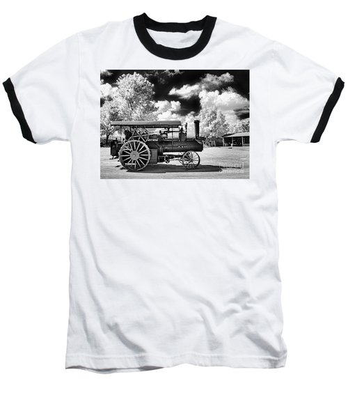 Baseball T-Shirt featuring the photograph The Old Way Of Farming by Paul W Faust - Impressions of Light