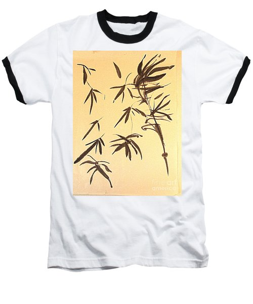 Baseball T-Shirt featuring the painting Thinking Of Wind 3 by Nancy Kane Chapman