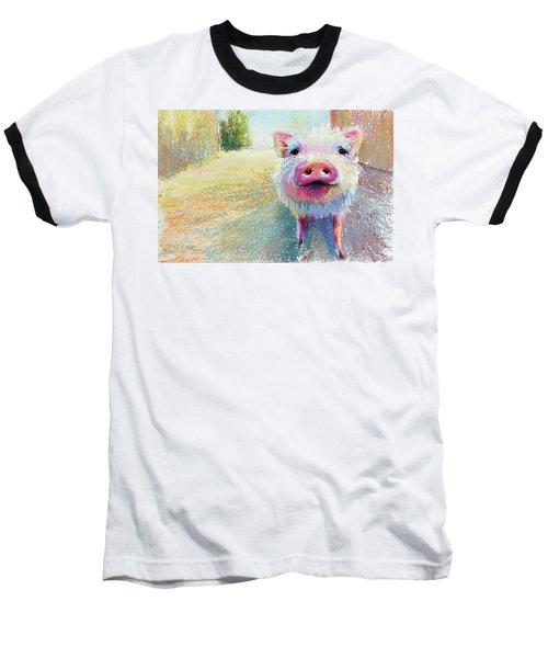 This Little Piggy Baseball T-Shirt