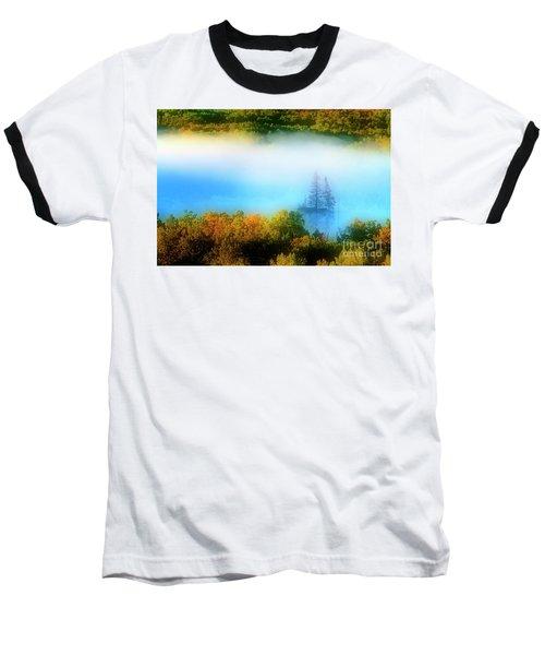 Through The Fog Baseball T-Shirt