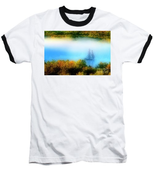 Through The Fog Baseball T-Shirt