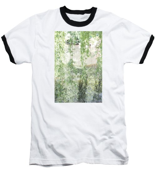 Through The Willows Baseball T-Shirt