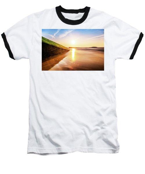 Touching The Golden Cloud Baseball T-Shirt