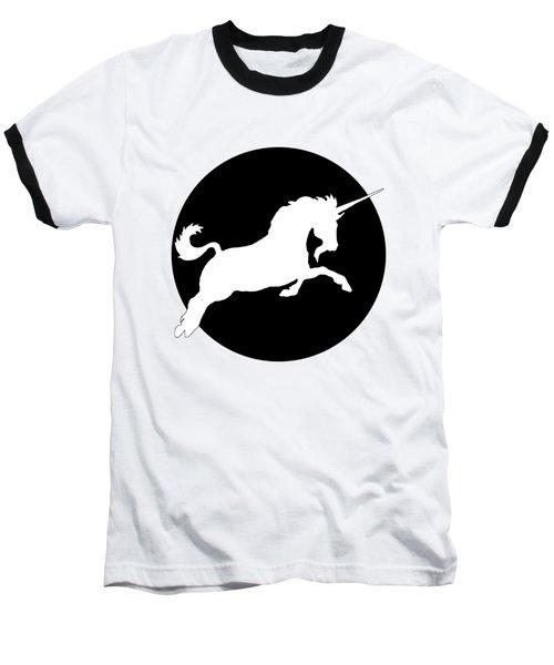 Unicorn Baseball T-Shirt by Mordax Furittus