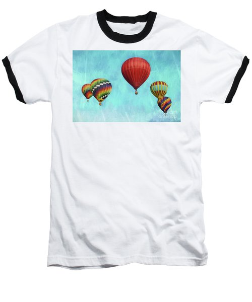 Baseball T-Shirt featuring the photograph Up Up And Away 2 by Benanne Stiens