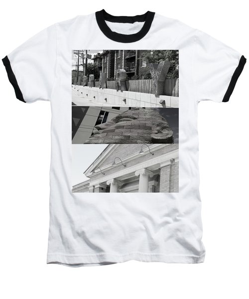 Baseball T-Shirt featuring the photograph Uptown Library by Susan Stone