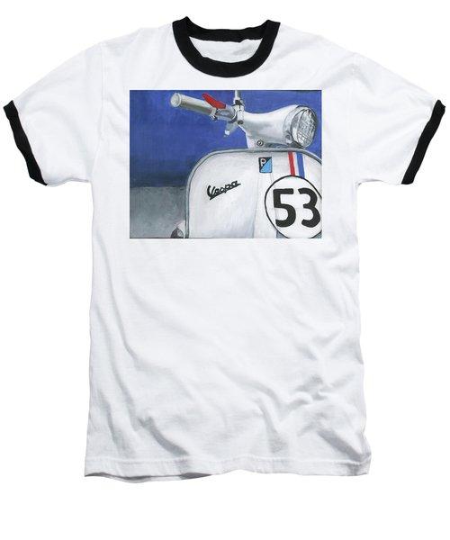 Vespa 53 Baseball T-Shirt