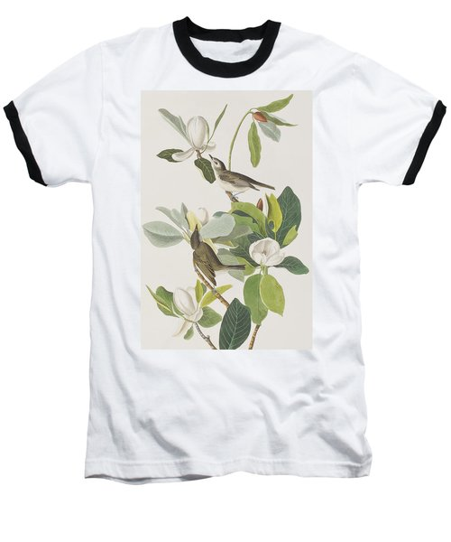 Warbling Flycatcher Baseball T-Shirt