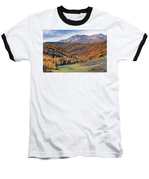 Wasatch Moutains Utah Baseball T-Shirt