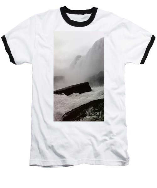 Baseball T-Shirt featuring the photograph Waterfall by Raymond Earley