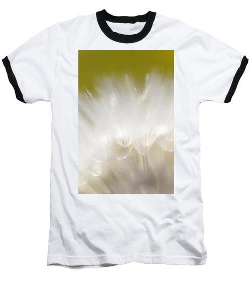 White Blossom 1 Baseball T-Shirt