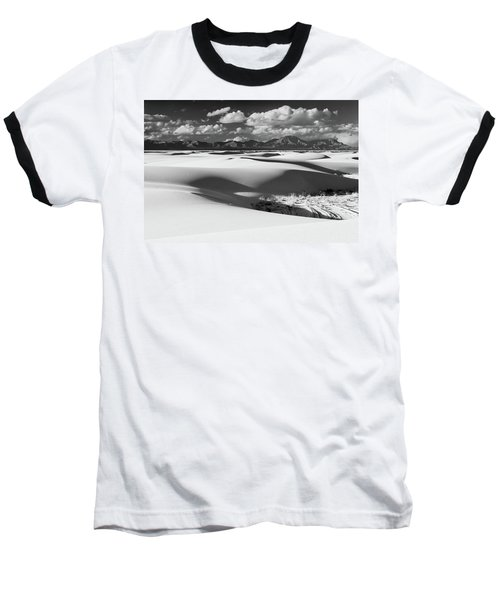 White Sands Afternoon Baseball T-Shirt