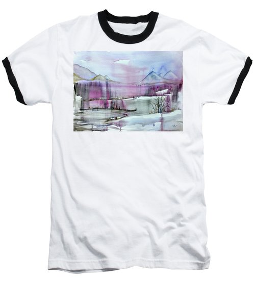 Winter Afternoon Baseball T-Shirt