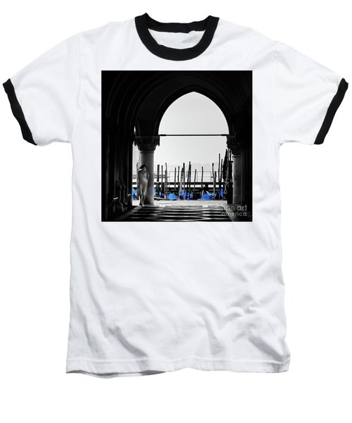 Woman At Doges Palace Baseball T-Shirt