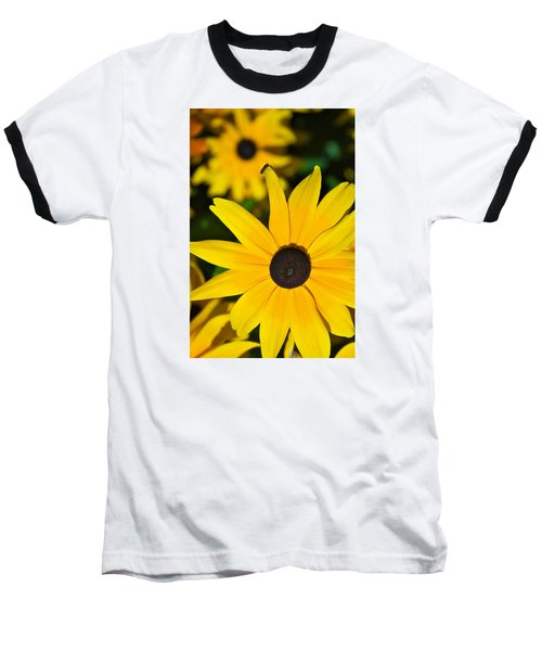 Baseball T-Shirt featuring the photograph Yellow Flowers by Bob Pardue