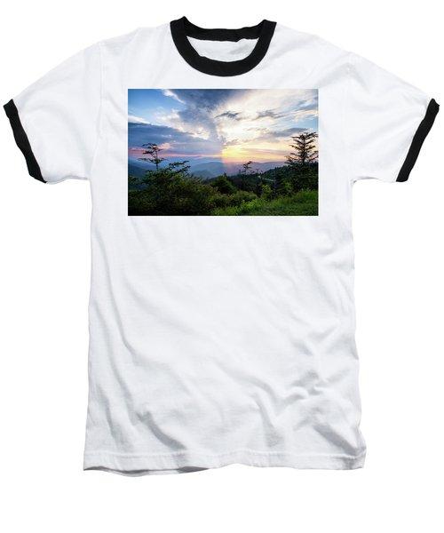 Yin And Yang Baseball T-Shirt by Deborah Scannell