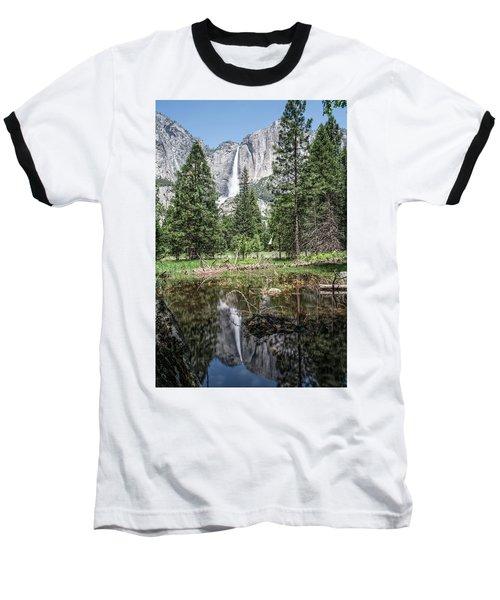 Yosemite View 16 Baseball T-Shirt