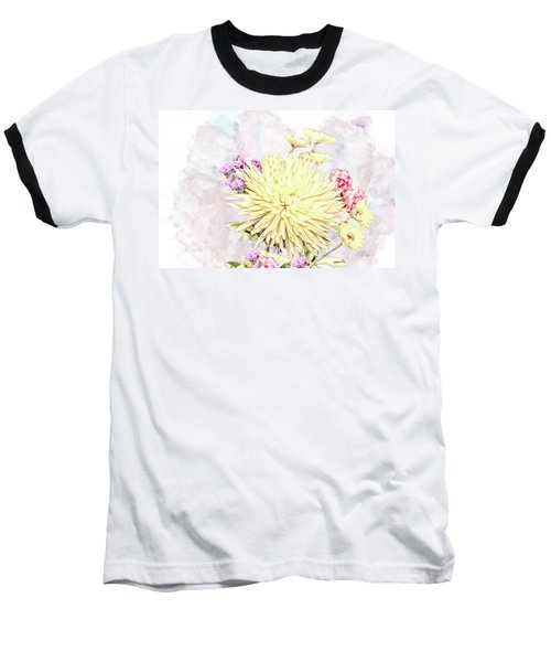 10865 Spring Bouquet Baseball T-Shirt