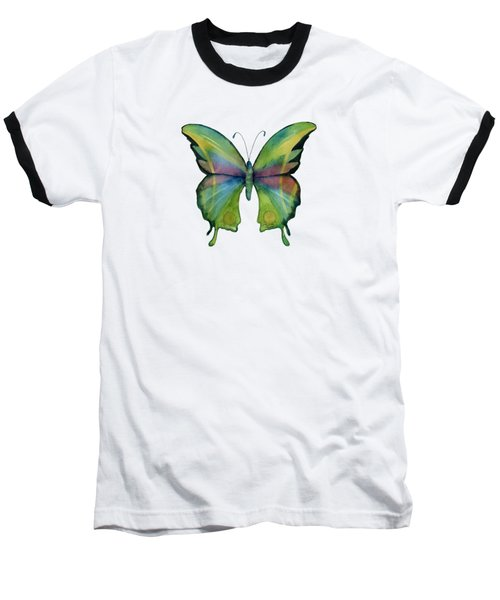 11 Prism Butterfly Baseball T-Shirt