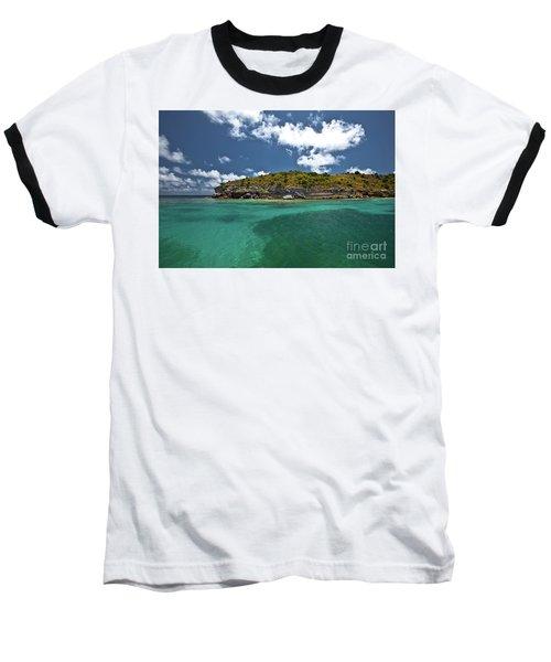 Sea And Clouds Baseball T-Shirt