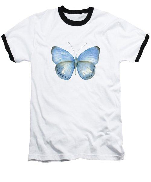 110 Blue Jack Butterfly Baseball T-Shirt