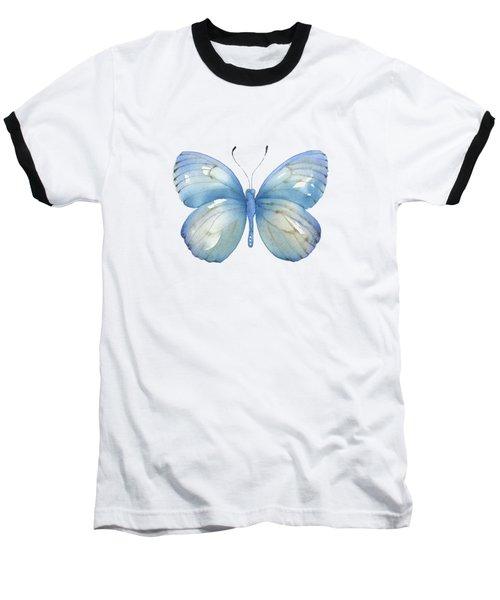 112 Blue Marcia Butterfly Baseball T-Shirt