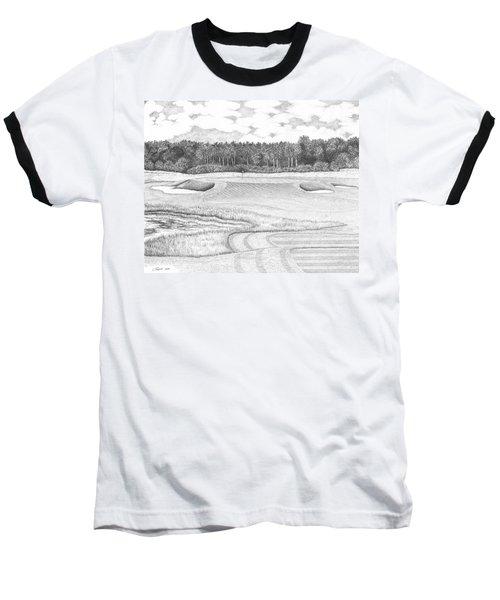 11th Hole - Trump National Golf Club Baseball T-Shirt by Lawrence Tripoli