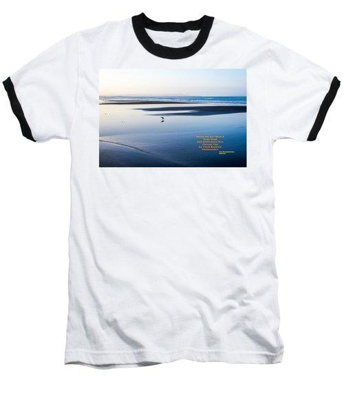 A Buddha Saying Baseball T-Shirt