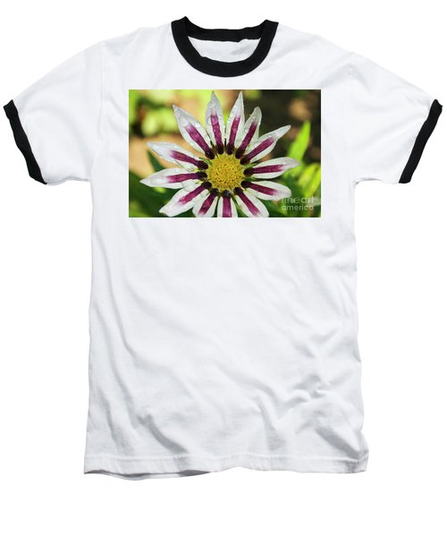 Nice Flower Baseball T-Shirt by Elvira Ladocki
