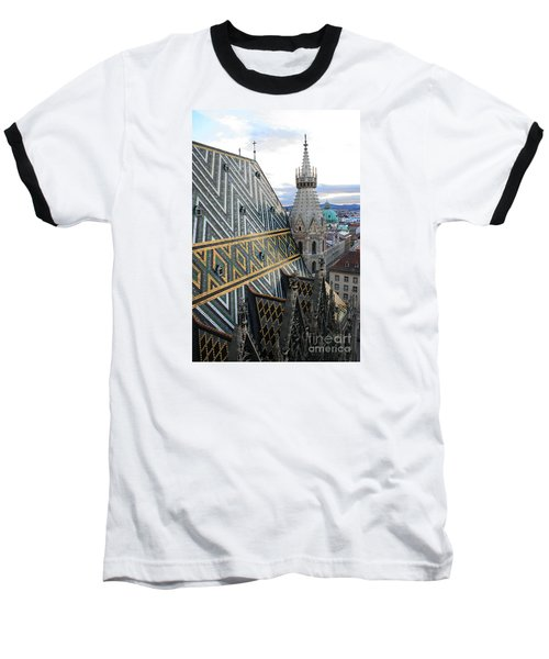 St Stephens Cathedral Vienna Baseball T-Shirt