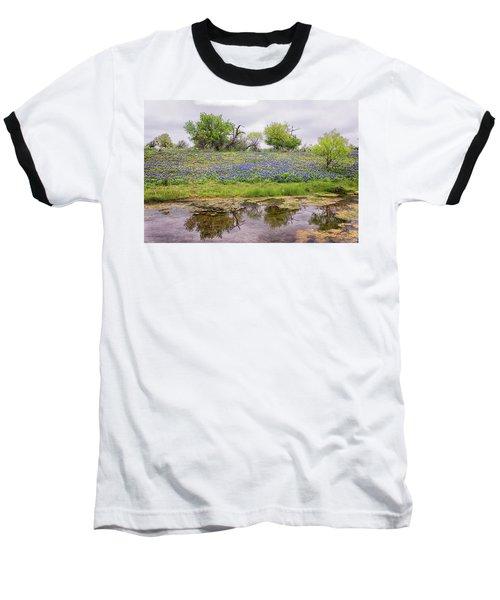 Texas Bluebonnets 7 Baseball T-Shirt