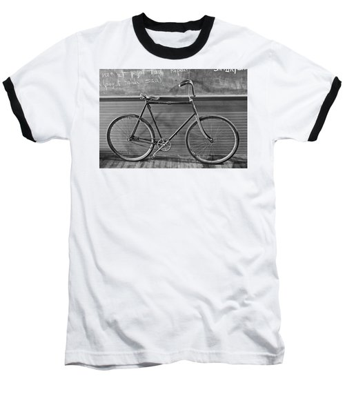 Baseball T-Shirt featuring the photograph 1895 Bicycle by Joan Reese