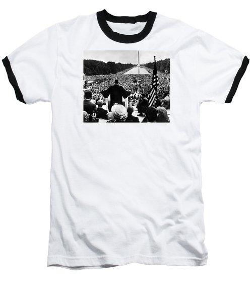 Martin Luther King Jr Baseball T-Shirt