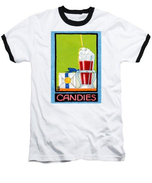 1910 Candies Baseball T-Shirt