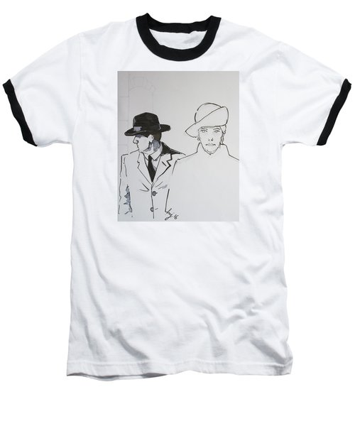 1920s Film Noir - I Think Were Being Followed Baseball T-Shirt