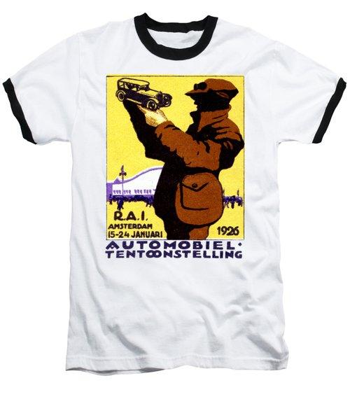 1926 Dutch Car Show Baseball T-Shirt
