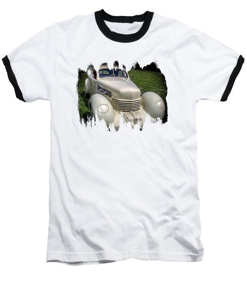 Baseball T-Shirt featuring the photograph 1936 Cord Automobile by Thom Zehrfeld