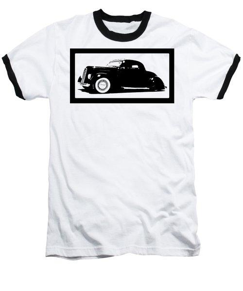 1936 Ford Custom Tee Baseball T-Shirt