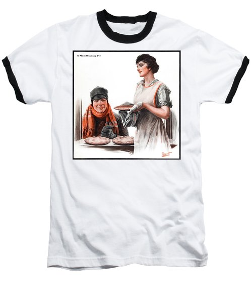 Baseball T-Shirt featuring the photograph Cover Of Country Gentleman Agricultural by Remsberg Inc
