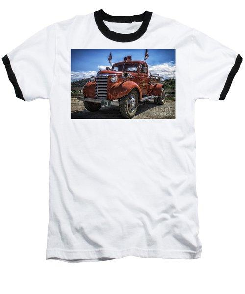 1940 Chevrolet Fire Truck  Baseball T-Shirt
