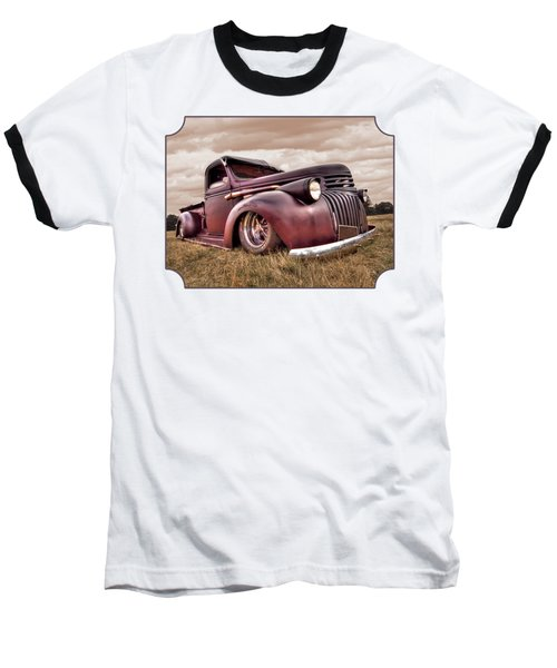 1941 Rusty Chevrolet Baseball T-Shirt