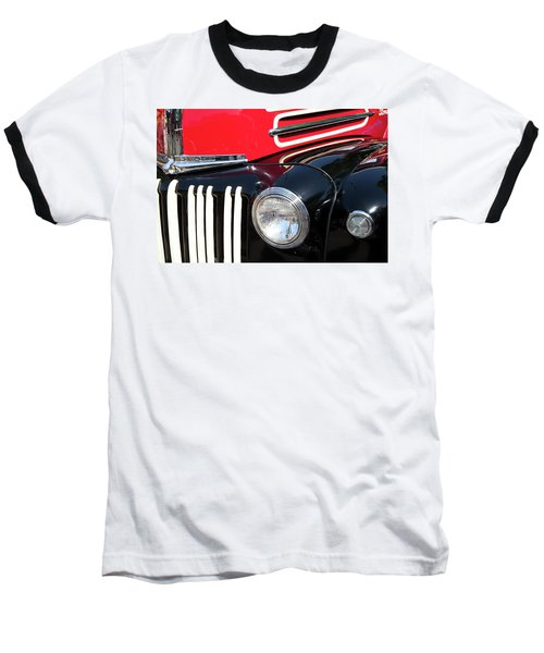 Baseball T-Shirt featuring the photograph 1947 Vintage Ford Pickup Truck by Theresa Tahara