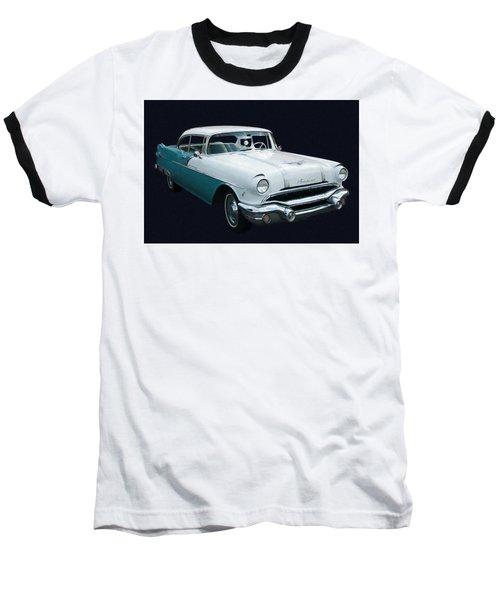 1956 Pontiac Star Chief Digital Oil Baseball T-Shirt
