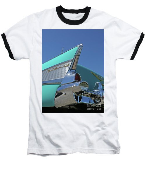 1957 Chevy Baseball T-Shirt