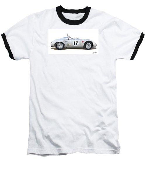 1959 Porsche Type 718 Rsk Spyder Baseball T-Shirt by Alain Jamar