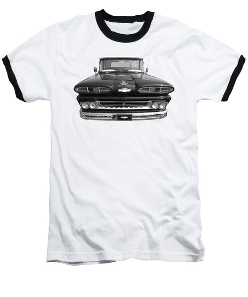 Baseball T-Shirt featuring the photograph 1960 Chevy Truck by Gill Billington