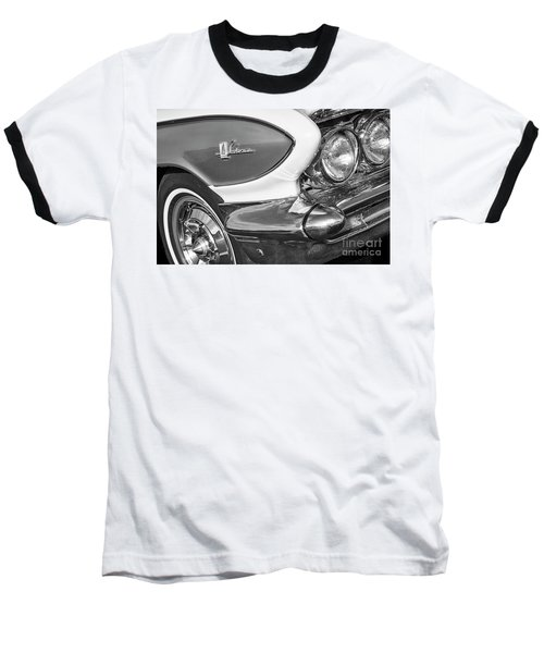 Baseball T-Shirt featuring the photograph 1961 Le Sabre Monotone by Dennis Hedberg