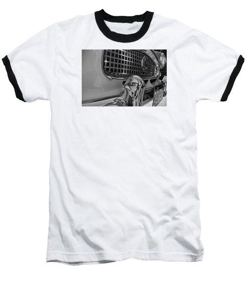1961 Nash Metropolitan Bw Pov Baseball T-Shirt by John S